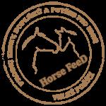 HorseFeed - logo razítko